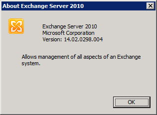 About Exchange 2010